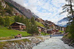 City Zermatt Royalty Free Stock Images