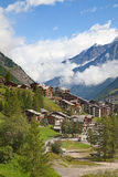City Zermatt Stock Images