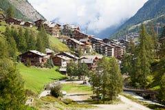 City Zermatt Stock Images