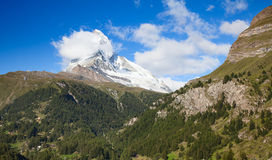 City Zermatt Stock Photos