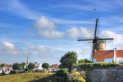 The city of Zierikzee , Netherlands Royalty Free Stock Images