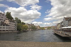 City of Zurich, Switzerland Royalty Free Stock Photo