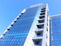 Citybank, das 2 aufbaut lizenzfreie stockbilder