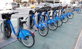 Citybike in new york royalty free stock photos