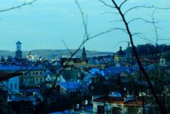 Citycenter Львова Стоковая Фотография RF