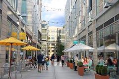 Citycenter gelijkstroom Royalty-vrije Stock Afbeeldingen