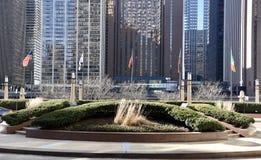 Cityfront Plaza Stock Photo
