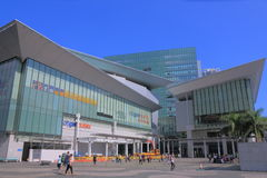 Citygate outlet shopping mall Hong Kong. People visit Citygate outlet shopping mall in Hong Kong Stock Photography