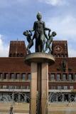 cityhall Όσλο Στοκ Εικόνα