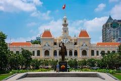 Cityhall Сайгона Стоковое Изображение