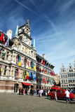 The Cityhall of Antwerpen Stock Image