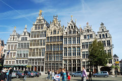 The Cityhall of Antwerpen Stock Photo