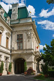 Cityhall building. In Iasi, Romania royalty free stock images