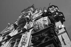 Cityhall. The famous cityhall in Gouda stock photos