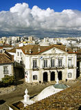 Cityhall of Faro. Portugal located on the old part of the town Stock Image
