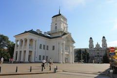 Cityhall i Minsk arkivfoton