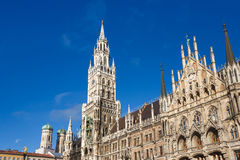Cityhall of Munich Stock Images