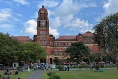 The Cityhall of Rangoon in Myanmar Royalty Free Stock Photo