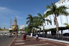 The Cityhall of Rangoon in Myanmar Stock Photos