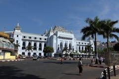 The Cityhall of Rangoon in Myanmar Stock Image