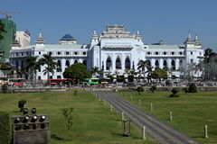The Cityhall of Rangoon in Myanmar Stock Photo