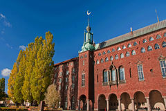 Cityhall in Stockholm Stock Photography