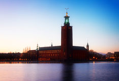 Cityhall of Stockholm, Sweden Royalty Free Stock Photos