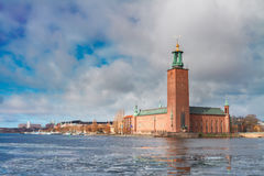 Cityhall of Stockholm, Sweden Royalty Free Stock Photo