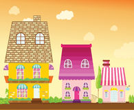 Cityhouse Stock Image