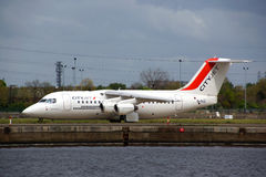 CityJet plane Royalty Free Stock Photos