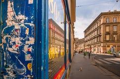 Citylife,布达佩斯 图库摄影