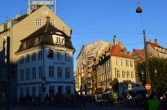 Citylife στην Κοπεγχάγη στοκ εικόνες με δικαίωμα ελεύθερης χρήσης