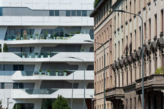 CityLife details, Milan Stock Photography