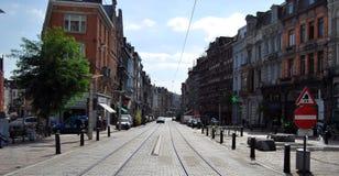 Citylife en Gante, Bélgica Imágenes de archivo libres de regalías
