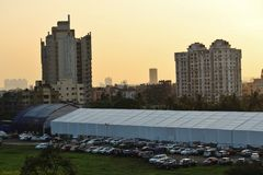 Citylife Nowożytna fotografia Zdjęcie Stock