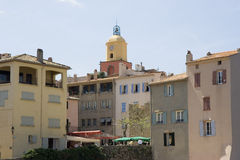 Citylife in saint-tropez Royalty Free Stock Images