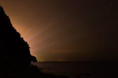 Citylight en la noche Foto de archivo