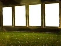 Citylight na baixa. Opinião da noite. Imagens de Stock