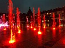 Citylights Arkivbild