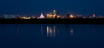 Cityline of Astana Stock Photo