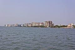 Cityline d'Ernakulam Images libres de droits