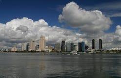 cityline di m14 San Diego fotografia stock libera da diritti