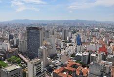 Cityline di Sao Paulo, Brasile Fotografia Stock