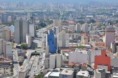 Cityline di Sao Paulo, Brasile Fotografia Stock Libera da Diritti