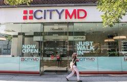 CityMD Lizenzfreie Stockfotografie