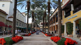 CityPlace in West Palm Beach, Florida Royalty Free Stock Photos