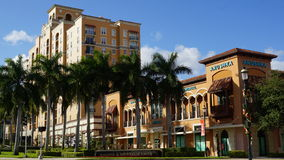 CityPlace in West Palm Beach, Florida Royalty Free Stock Images