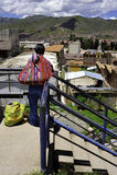 cityrama cuzco peruvian kobieta Fotografia Stock