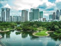 Citysacape της Κουάλα Λουμπούρ, Μαλαισία Στοκ Εικόνες