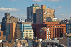 Cityscape 0637. Greenwich Village/New York University area in Manhattan Stock Photo